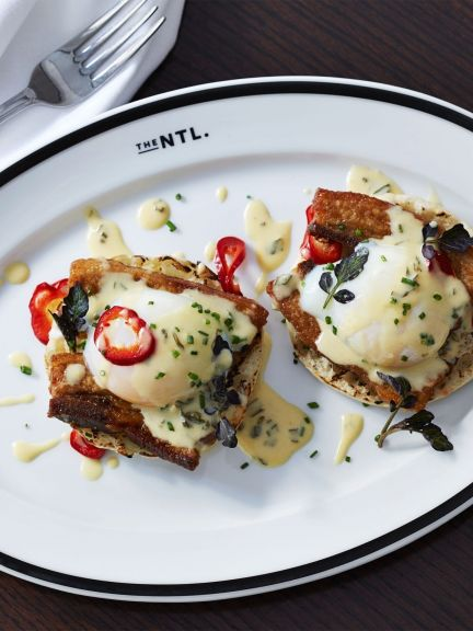 Eggs Benedict from The National NYC