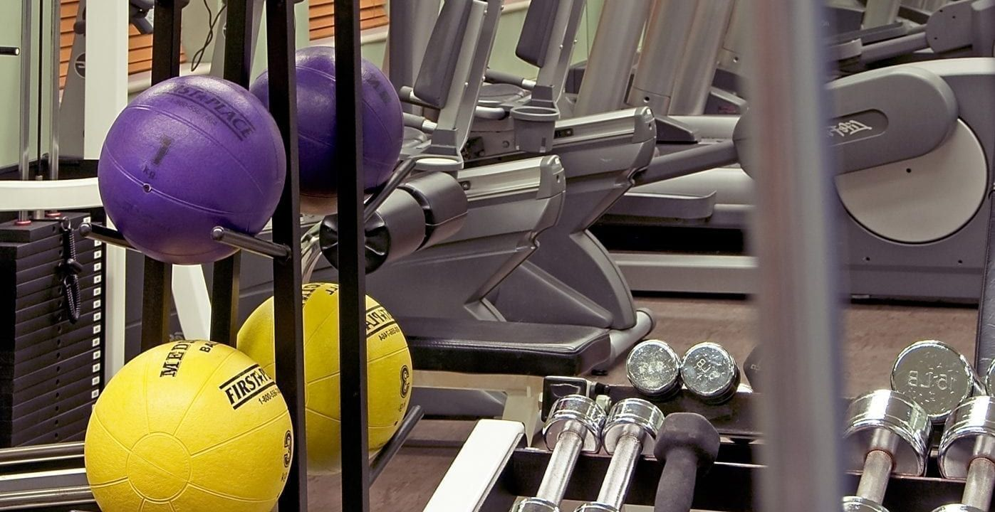 The fitness center at The Benjamin Hotel in NYC