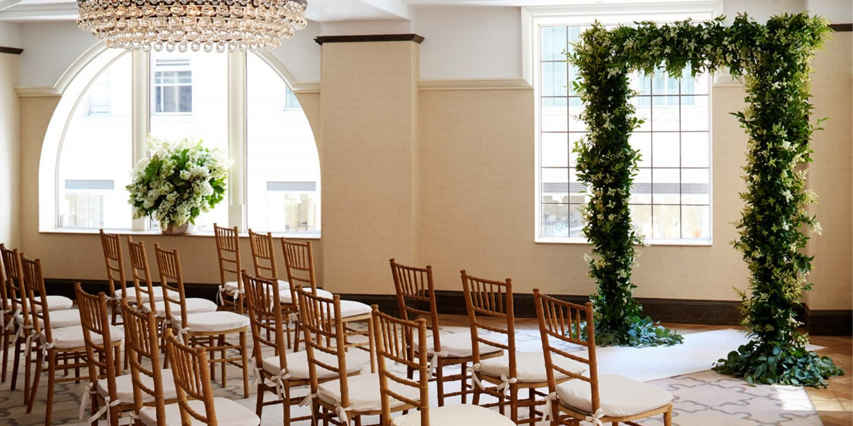 A Wedding Ceremony at The Benjamin Hotel NYC
