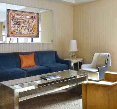 A suite from The Benjamin Hotel in NYC